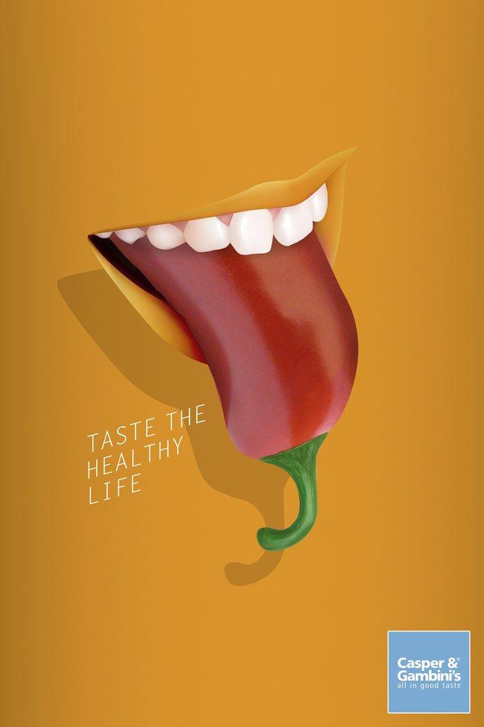 Casper&Gambini's - Pepper Taste the healthy life.