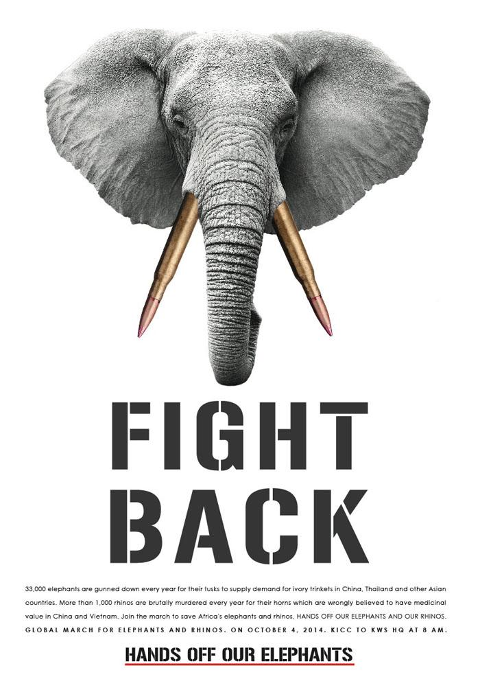 Hands Off Our Elephants Kenya - Fight back