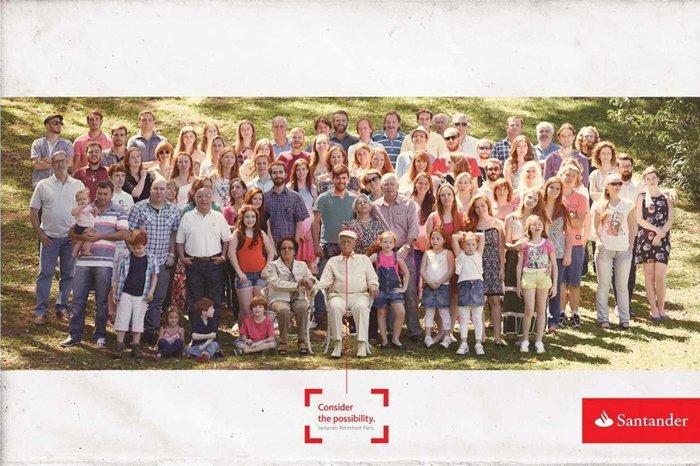 Santander - Family - Consider the possibility. Santander Retirement Plans.