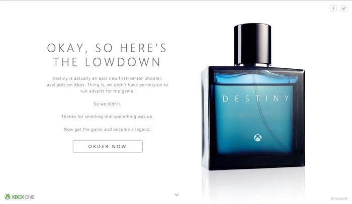 Xbox : Destiny - The new fragrance by Xbox