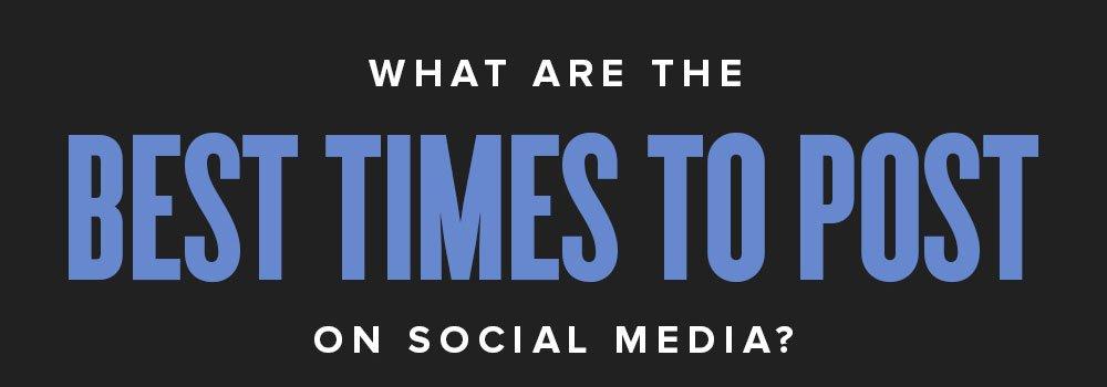 infografia mejor momento para publicar en redes sociales