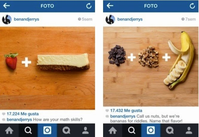 Juegos Visuales en Instagram. Contenido efectivo