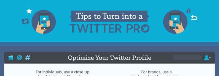 Trucos de Twitter para convertirte en un auténtico pro - Infografía