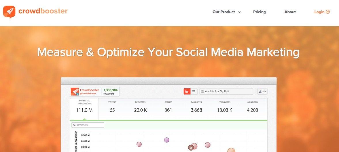 Crowdbooster - herramientas para buscar Influencers en Redes Sociales