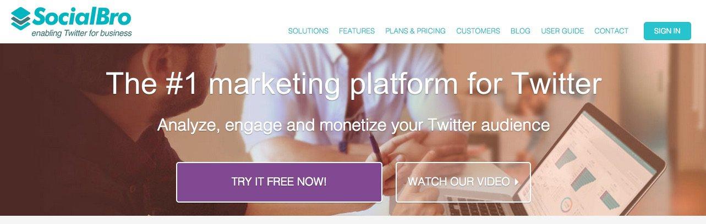 SocialBro - herramientas para buscar Influencers en Redes Sociales