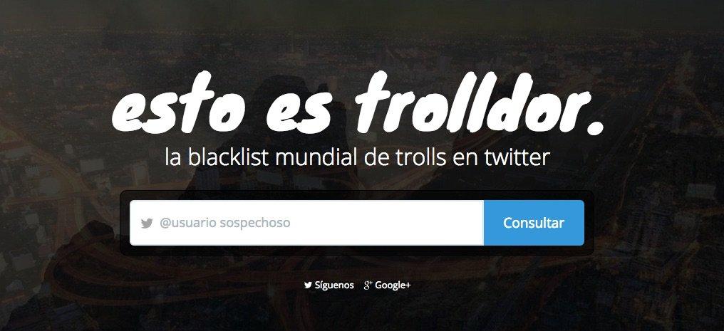 Trolldor - herramientas para buscar Influencers en Redes Sociales