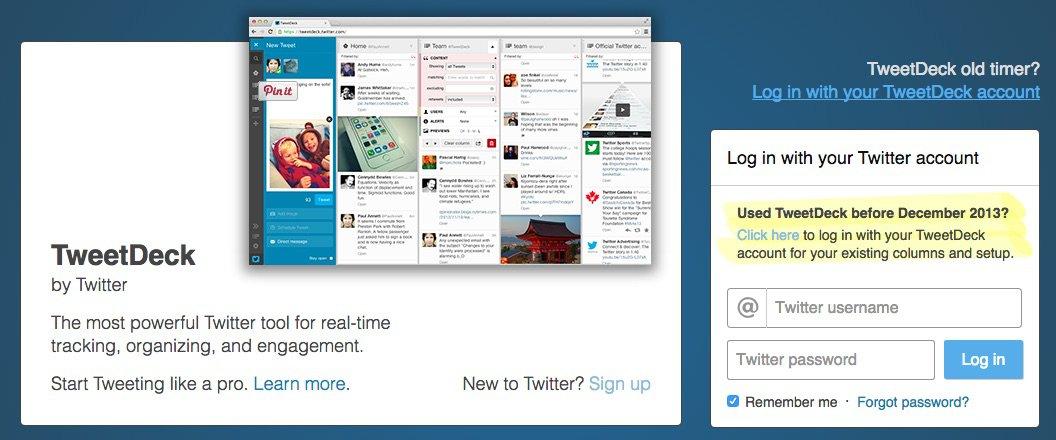 TweetDeck - Herramientas para monitorizar tu marca en las Redes Sociales