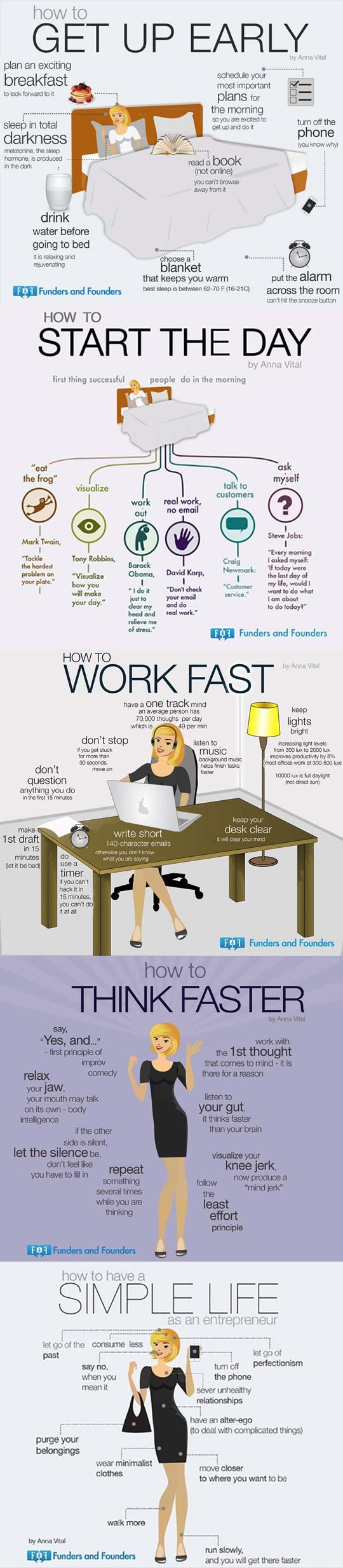 Consejos para mejorar la productividad