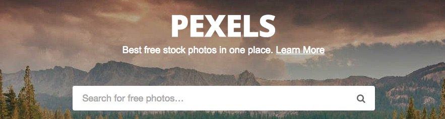 Pexels Bancos de imágenes gratuitos