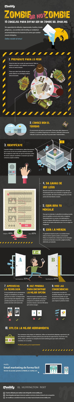 Mejorar apertura newsletters infografia