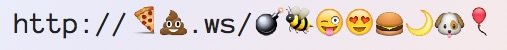 LinkMoji acortador de URLs que las convierte en emojis