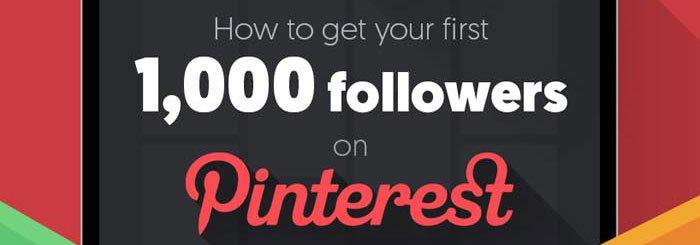 Como conseguir los priemros seguidores en Pinterest