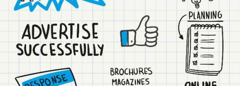 Dibujo publicidad online