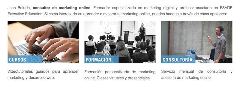 Joan Boluda. Los mejores blogs de Marketing Online en español - 2015 - Oink my God