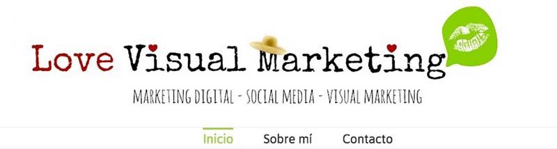 Love Visual Marketing. Los mejores blogs de Marketing Online en español - 2015 - Oink my God