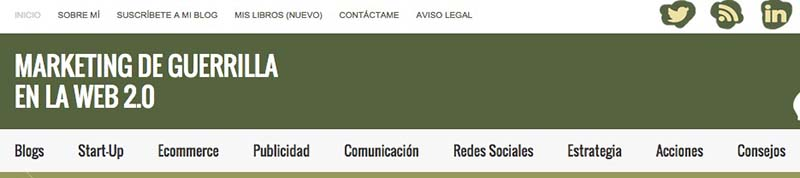 Marketing de Guerrilla. Los mejores blogs de Marketing Online en español - 2015 - Oink my God