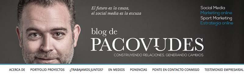 Paco Viudes. Los mejores blogs de Marketing Online en español - 2015 - Oink my God