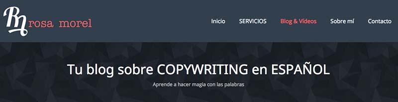 Rosa Morel. Los mejores blogs de Marketing Online en español - 2015 - Oink my God