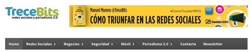 TreceBits. Los mejores blogs de Marketing Online en español - 2015 - Oink my God