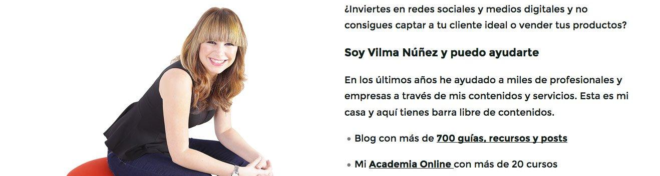 Vilma Nuñez blog