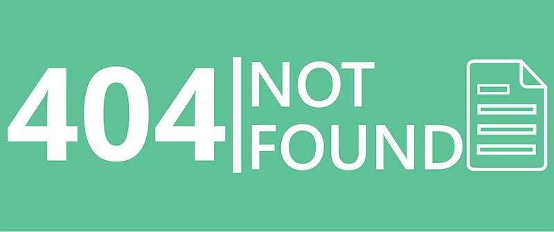 diccionario seo para principiantes - Error 404