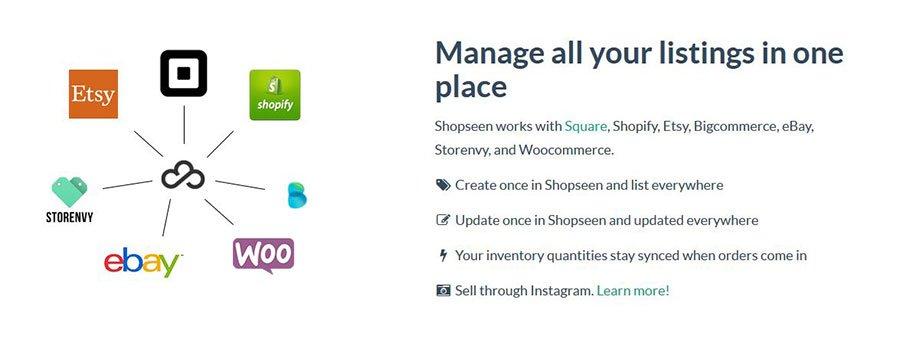 Shopseen - Herramientas para vender productos en Instagram