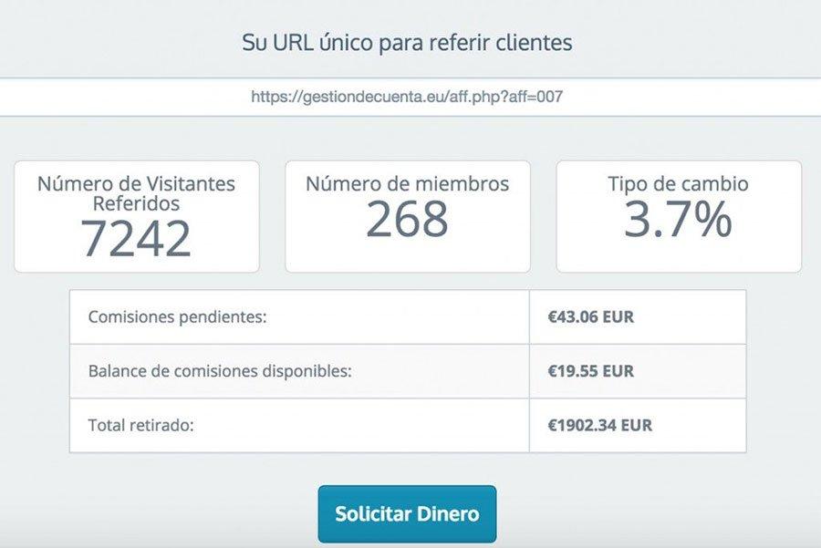Ejemplo de cómo ganar dinero con tu blog: Venta de Hosting por afiliación