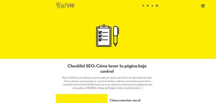 40defiebre - Los Mejores Blogs de Marketing Online en español del 2016
