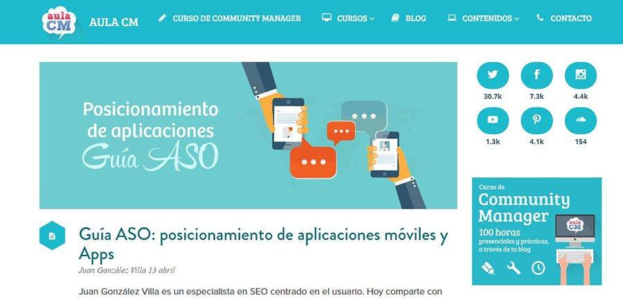 AulaCM - Los Mejores Blogs de Marketing Online en español del 2016