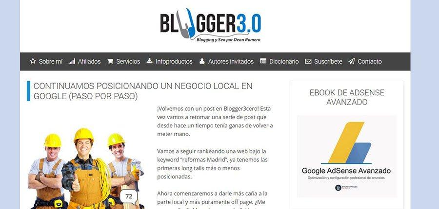 Blogger 3.0 - Los Mejores Blogs de Marketing Online en español del 2016