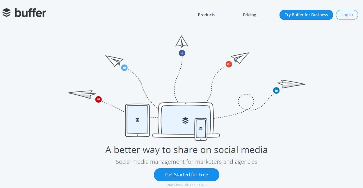 Buffer - Herramienta para gestionar Twitter