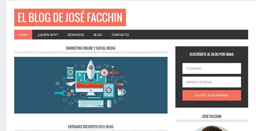 El blog de Jose Facchin - Los Mejores Blogs de Marketing Online en español del 2016
