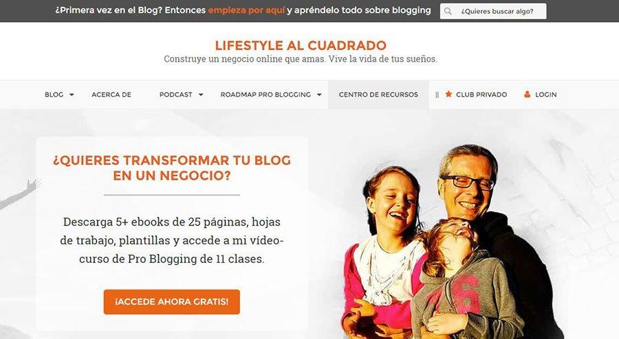 Lifestyle al cuadrado - Los Mejores Blogs de Marketing Online en español del 2016
