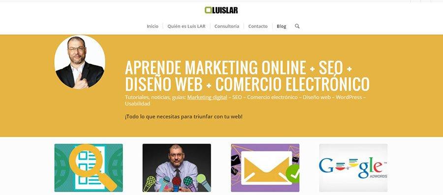 LuisLAR - Los Mejores Blogs de Marketing Online en español del 2016