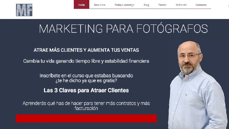 Marketing Para Fotógrafos - Los Mejores Blogs de Marketing Online en español del 2016