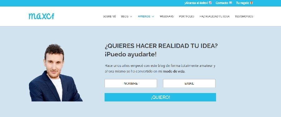 Maxcf - Los Mejores Blogs de Marketing Online en español del 2016