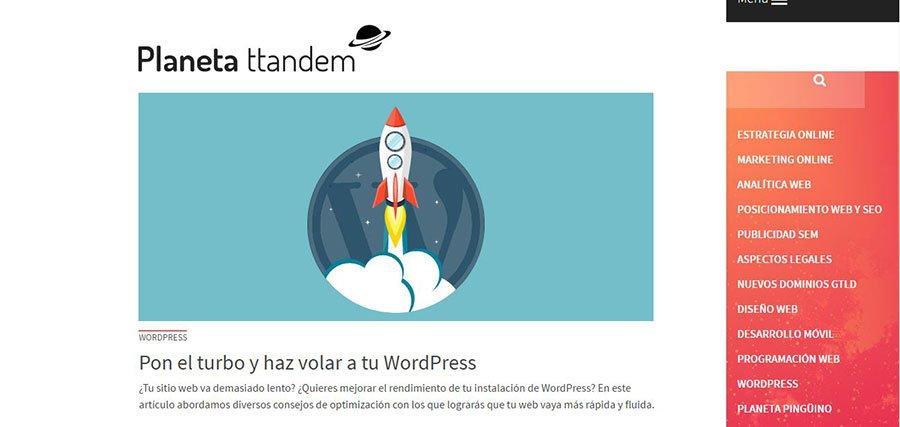 Ttandem - Los Mejores Blogs de Marketing Online en español del 2016