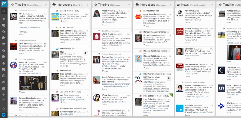 Tweetdeck - Herramienta para gestionar Twitter
