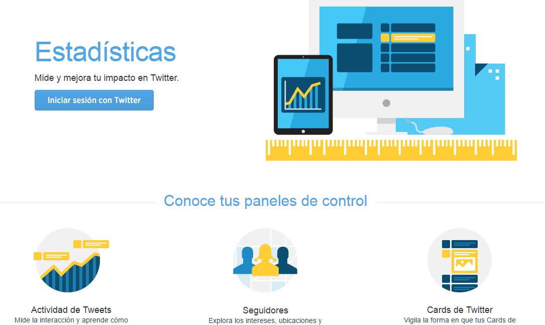 Twitter Analytics Herramienta para gestionar Twitter