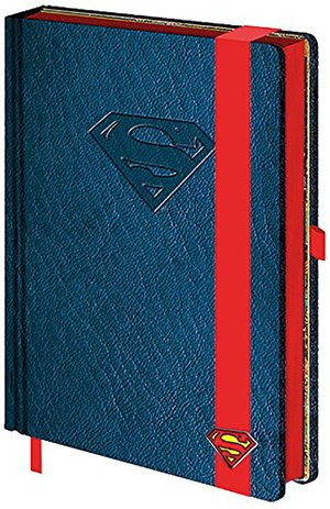 Los mejores regalos para marketeros: Libreta Premium A5 Superman
