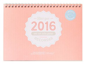 Los mejores regalos para marketeros: Mr. Wonderful - Calendario scrap