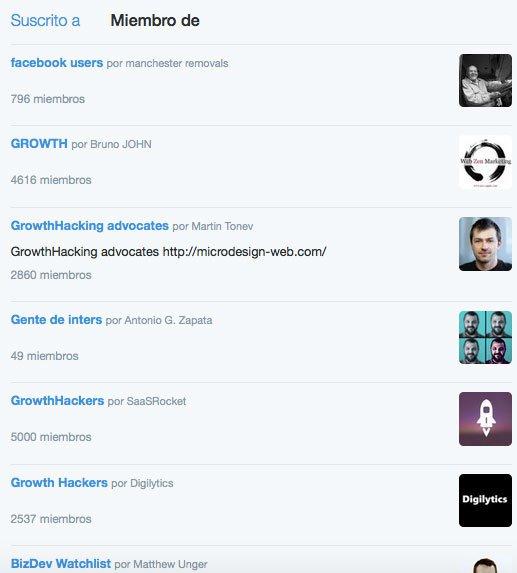 Trucos para conseguir más seguidores en Twitter. Crear listas de Twitter