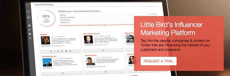 Little Bird - herramientas para buscar influencers en redes sociales