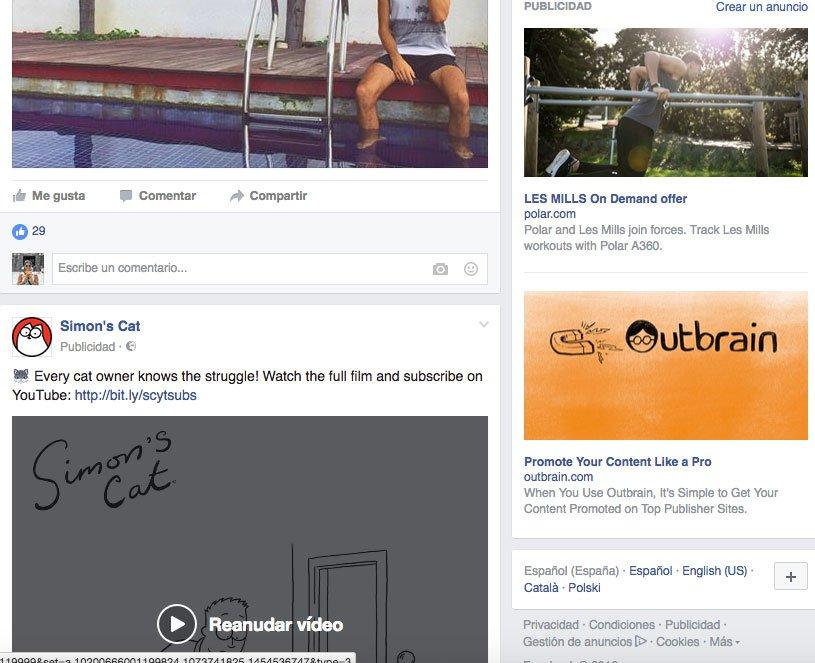 Trucos para optimizar campañas en Facebook Ads - Distintas ubicaciones anuncios Facebook Ads. Noticias y Columna de la derecha