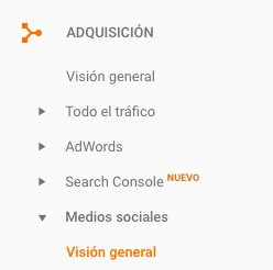 Cómo usar Google Analytics para mejorar la estrategia de contenidos de tu blog. Informe Redes Sociales Google Analytics