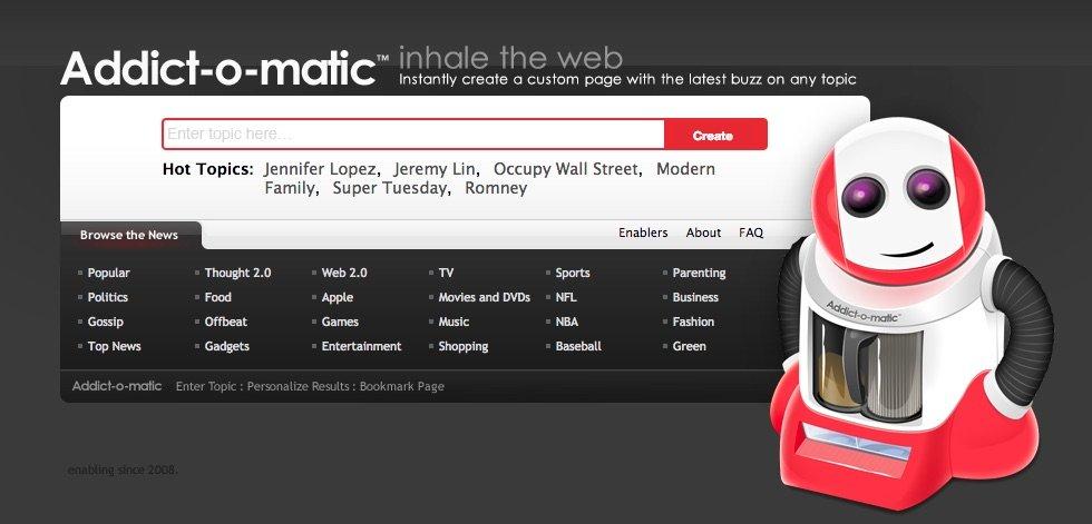 Addictomatic - Herramientas para monitorizar tu marca en las Redes Sociales