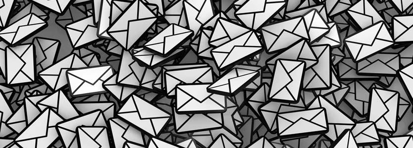 Cartas en blanco y negro