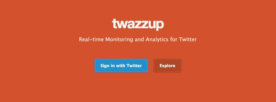 Twazzup - Herramientas para monitorizar tu marca en las Redes Sociales
