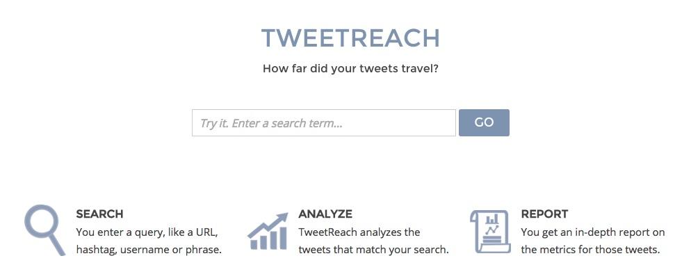 TweetReach - Herramientas para monitorizar tu marca en las Redes Sociales