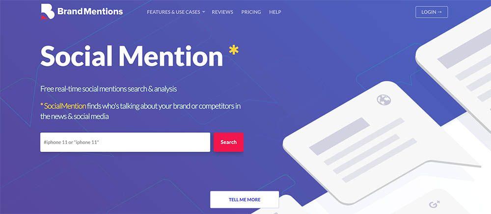 Social Mention - Herramientas para monitorizar tu marca en las Redes Sociales
